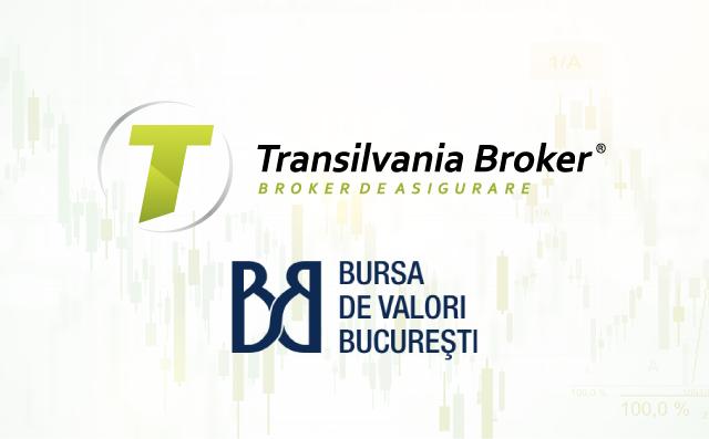 Transilvania Broker de Asigurare devine primul broker de asigurare listat pe Bursa de valori Bucuresti