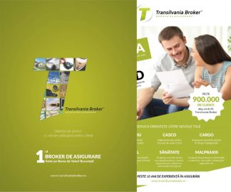 Materiale promovare a companiei